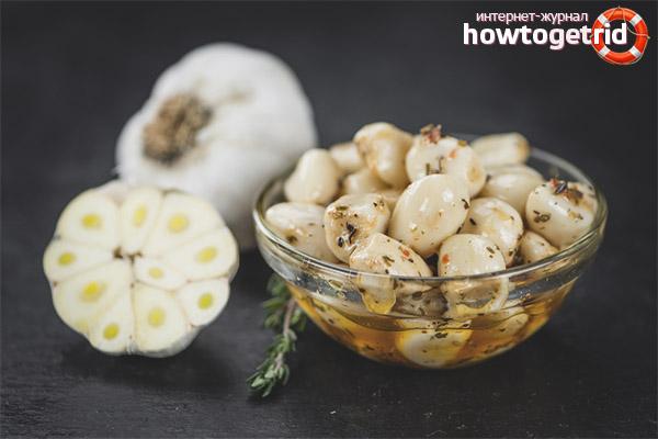 Garlic and heart