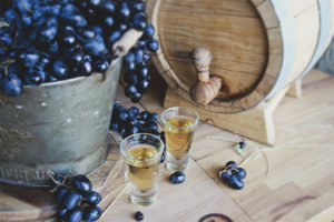 How to make chacha from grapes