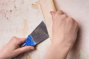 How to remove old wallpaper from walls