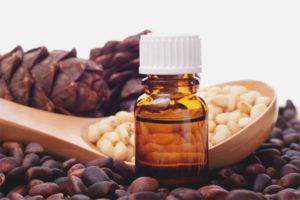Cedar oil for face