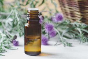 Thistle oil for face