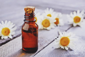 Chamomile oil for face