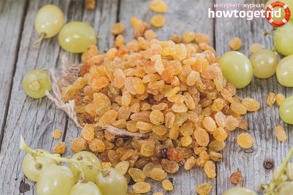 What is useful raisins when breastfeeding?