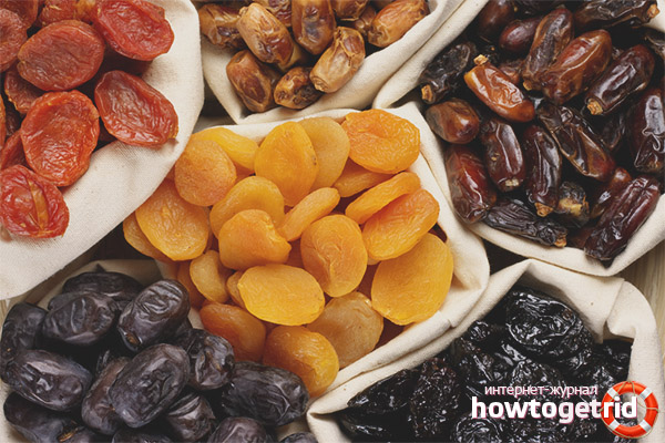 Permis de recevoir des fruits secs pendant l'allaitement