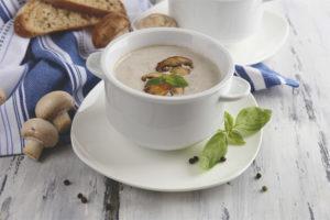Breastfeeding Mushroom Soup