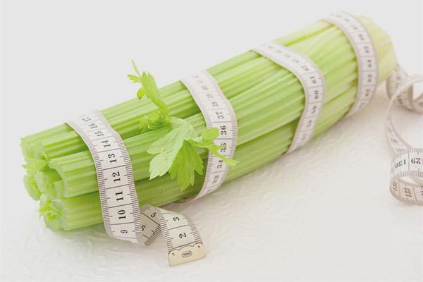Cum se utilizează țelina pentru pierderea în greutate