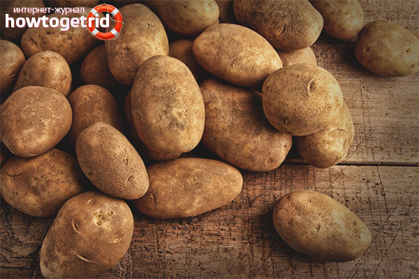 Potatoes in the diet of a nursing mother