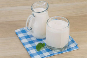 Kefir when breastfeeding