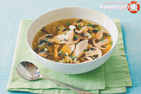 Is it possible to mushroom soup nursing mother