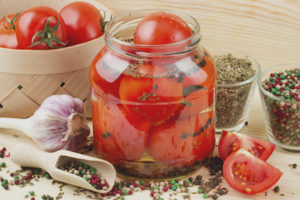 The benefits and harm of salted tomatoes