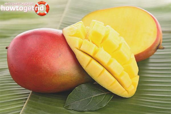 Contraindications of mango during breastfeeding