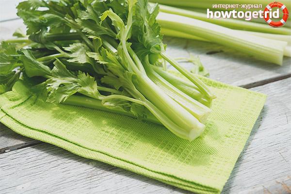 Salate de telina pentru pierderea in greutate