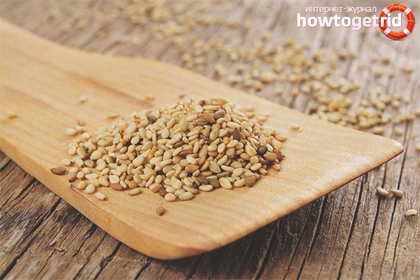 Sesame seeds when breastfeeding