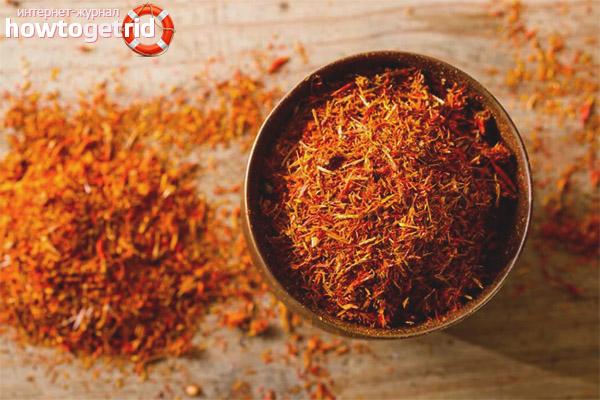 Cooking Saffron