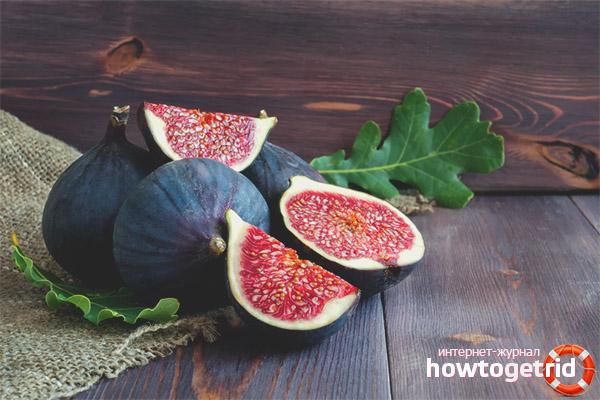 Ingredients figs