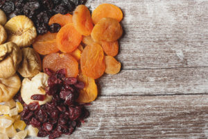 Dried fruits when breastfeeding