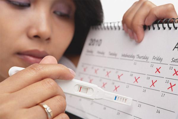 menstruation ved graviditet