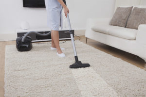 Efficient carpet cleaning