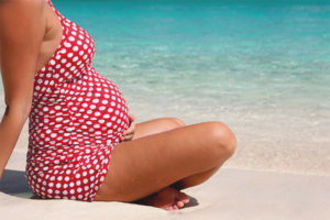 Is it possible for pregnant women to go to the sea