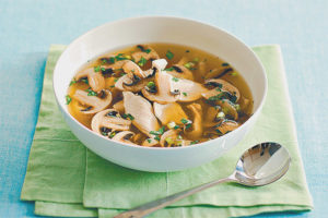 Is it possible for pregnant mushroom soup
