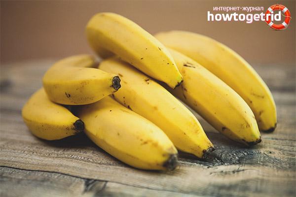 Harm of bananas in diabetes