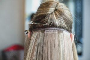 Extensions de cheveux de bande