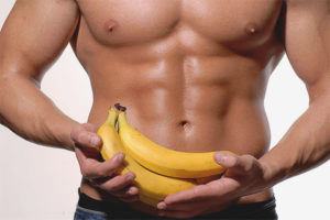 Is it possible to eat bananas after training?