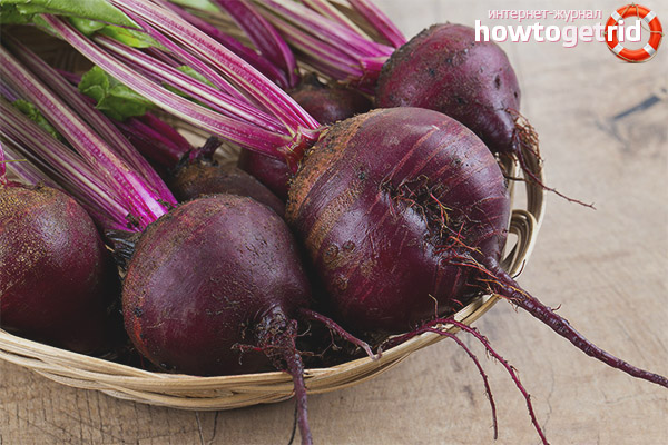 Useful properties of beet