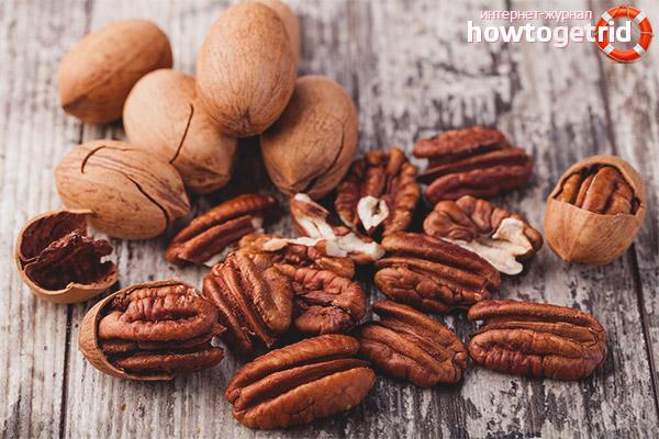 Valeur de noix de pécan