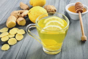 Ginger with lemon for weight loss