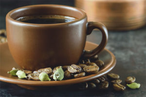 The benefits and harm of coffee with karmadon