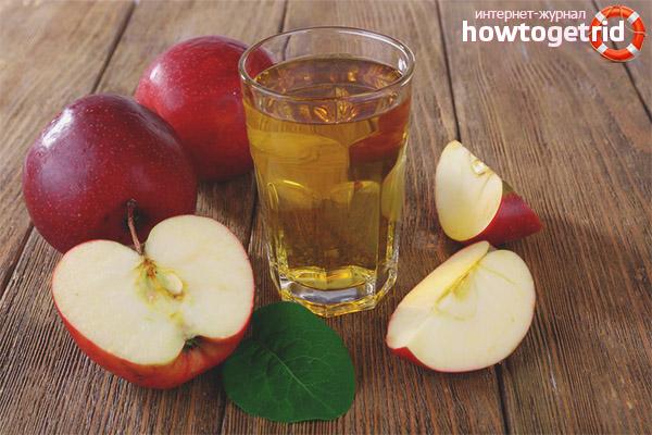 Πλεονεκτήματα και μειονεκτήματα του χυμού μήλου για την απώλεια βάρους