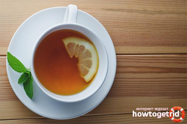 Lămâie de ceai Brewing Rețete