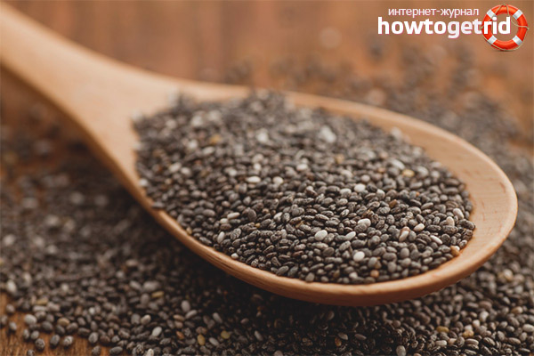 Chia semințe pentru constipație