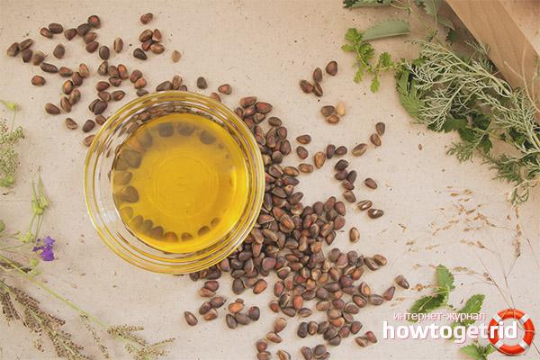 Perdre du poids avec de l'huile de cèdre