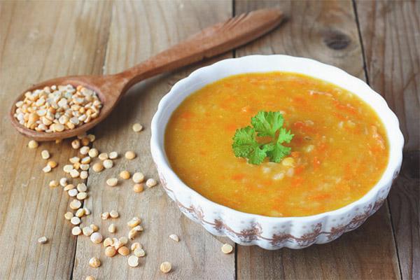 Comment faire cuire la soupe aux pois pour faire bouillir les pois