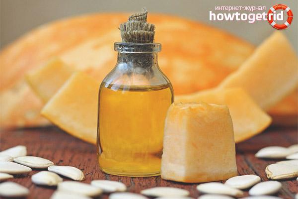 Propriétés utiles de l'huile de citrouille