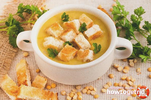 La bonne recette de la soupe aux pois